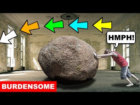 Learn English Words - BURDENSOME - Meaning, Vocabulary Lesson with Pictures and Examples