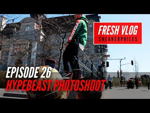 HYPEBEAST PHOTOSHOOT W/ ROYAL ONE LAS VEGAS - FRESH VLOG episode 26