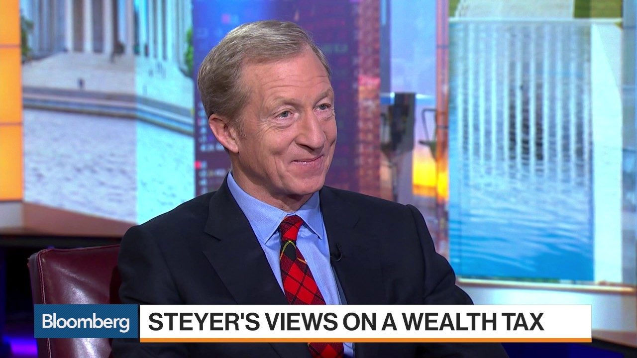 Billionaire Democratic presidential candidate Tom Steyer supports a ...