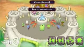 Moves Like Jagger in My Singing Monsters!!