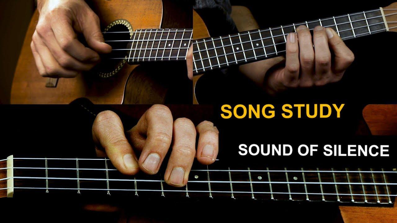 Sound Of Silence Ukulele Fingerpicking - Trolls - Anna Kendrick version