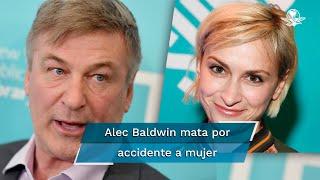 """Dos individuos fueron baleados durante el rodaje de una escena en el set de la película del oeste """"Rust"""", protagonizada por el actor Alec Baldwin, detalló el despacho en un comunicado"""