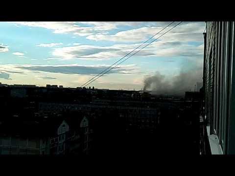 ТРЦ Рио горит, Москва