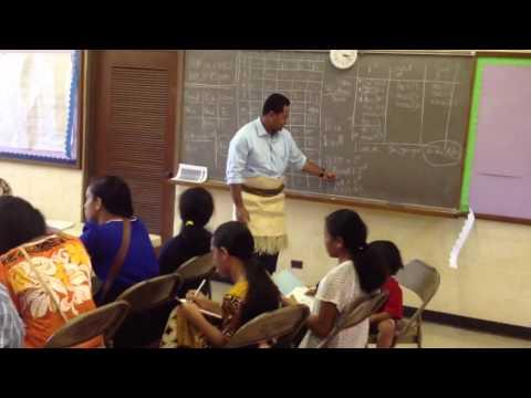 Kaliloa Tongan language school part 1
