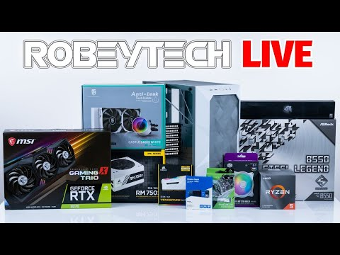 How To Build a PC – Giveaways + $2000 Build in Cooler Master TD500  (3600x / MSI RTX 3070)