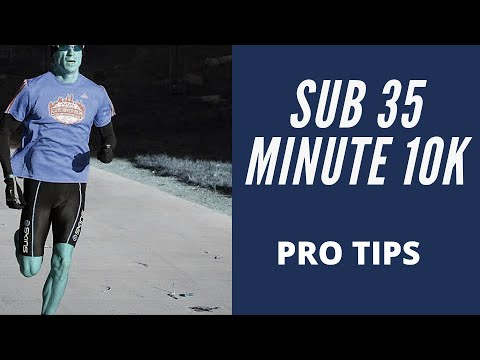 How To Run A Sub 35 Minute 10K EASY WAY