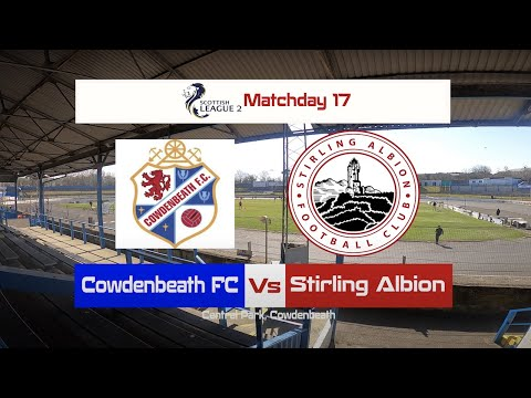 Cowdenbeath Stirling Goals And Highlights