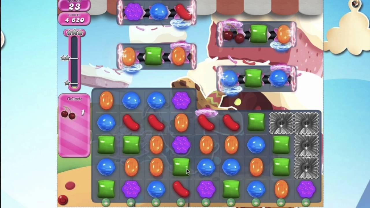 Candy Crush Saga Level 1642 HARD LEVEL
