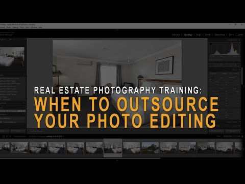 Real estate photography: When to outsource your photo editing