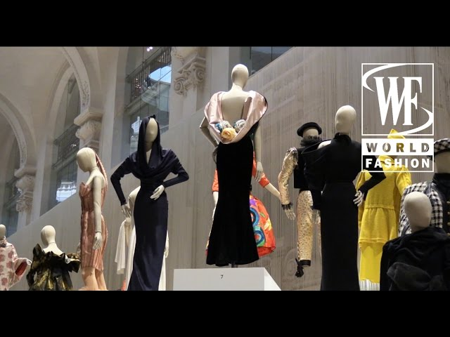"""Fashion Forward, 3 Siecles De Mode"" Exhibition Paris"