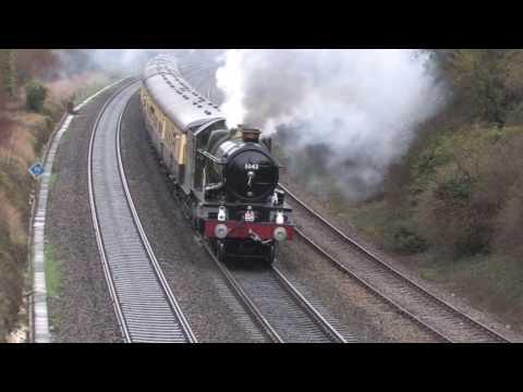 GWR steam locomotives at work