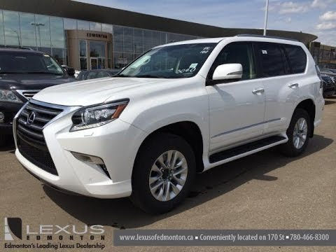 2014 Lexus Gx 460 4wd Premium Package Review White On