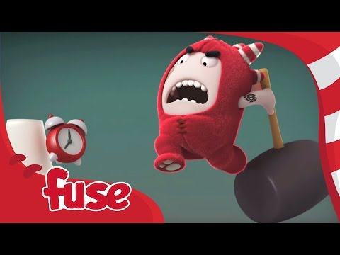 Oddbods | Day in the Life of Fuse