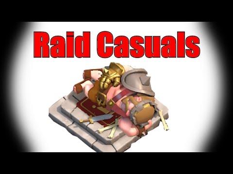 Clash of Clans: Tier 1 troops high lvl raid