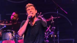 "Nick Carter and Jordan Knight concert  ""Drive My Car"" at The Fillmore Charlotte, NC October 15, 2014"