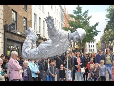 Silver man secret revealed from start to finish, floating an