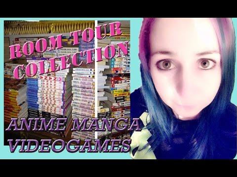 Room Tour Videogames, manga, geek collection