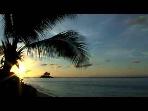 Seychelles sunrise at Anse Royale
