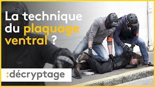 Qu'en est-il de la technique du plaquage ventral en France ?