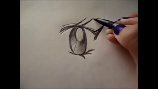 Step By Step Drawing Anime/Manga Girl Eyes