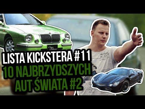 10 najbrzydszych aut świata cz.2 - Lista Kickstera #11