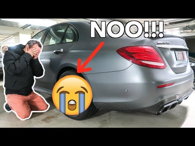 MY DAD CRASHED MY NEW E63 AMG WTF