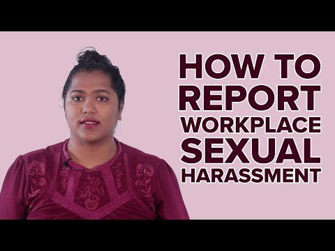 How To Report Workplace Sexual Harassment Mp3