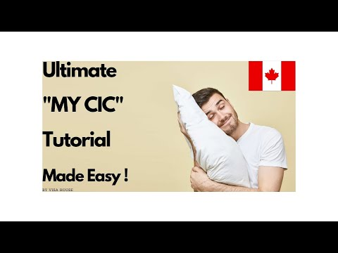 "How to make an online visa application on Citizenship and Immigration Canada ""CIC"""