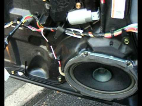 hqdefault mazda 6 front speaker replacement wmv youtube Radio Wiring Harness at gsmx.co
