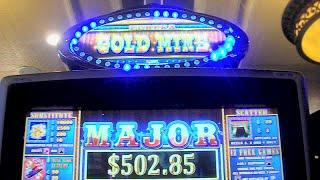 Eureka Gold Mine NEW SLOT MACHINE Bonus + Jackpot Feature Win