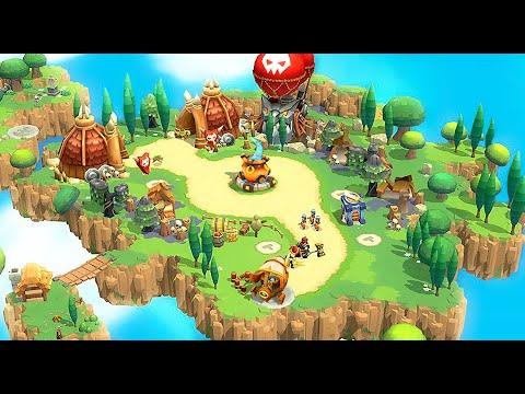 Wild TD: Tower Defense in Fantasy Sky Kingdom