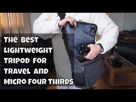 The Best Lightweight Tripod for Travel Mefoto Air Backpacker ep.112