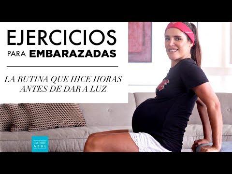 Rutina para embarazadas - 18 min. - 2do y 3er trimestre - Caribe Azul