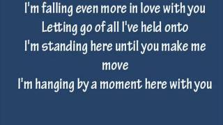 Lifehouse - Hanging By A Moment with lyrics