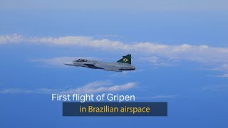 homepage tile video photo for Gripens first flight in Brazil