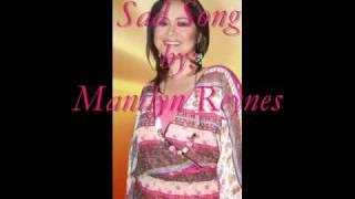 Sad Song by Manilyn Reynes