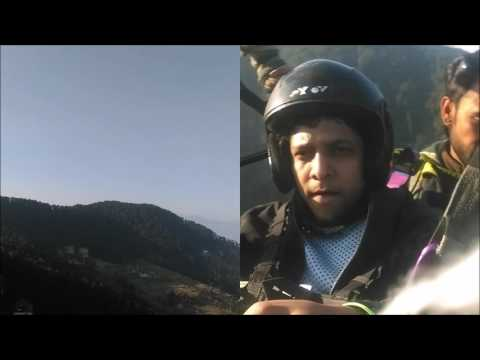Paragliding in India | Paragliding in Dalhousie | Dual Shoot Htc camera | Himalayan range