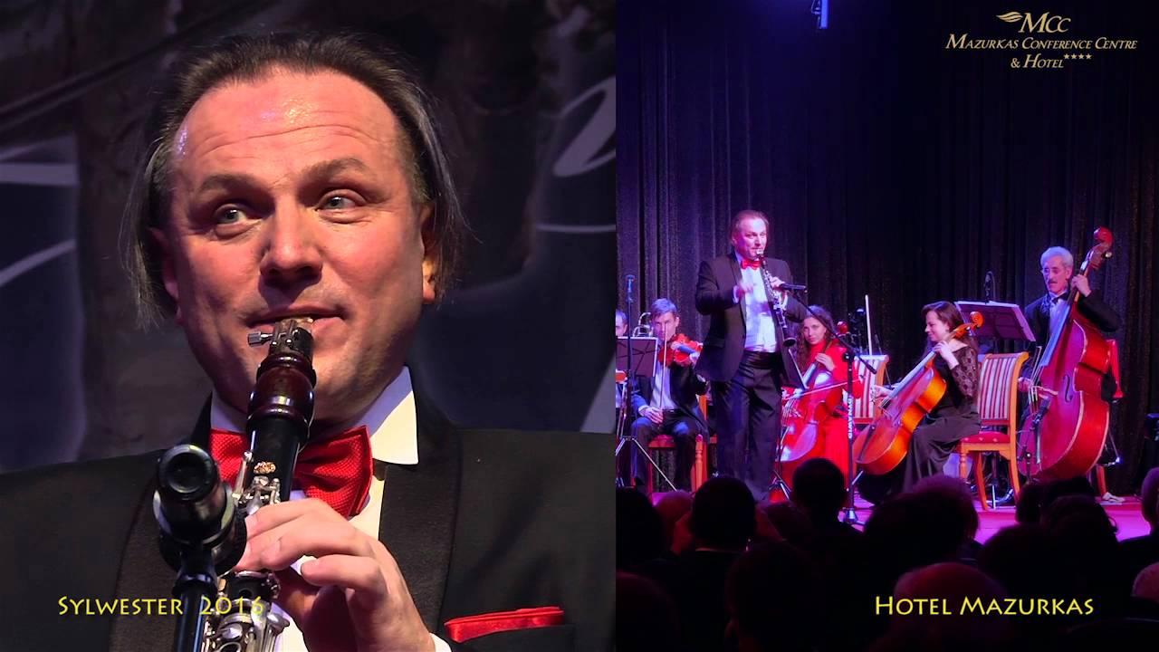 Sylwester w MCC Mazurkas- dyr.Wojciech Mrozek-klarnet i Orkiestra Opery Lwowskiej