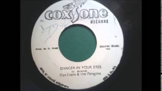 Don Evans & Paragons ─ Danger in your eyes