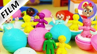 Playmobil Film polski | Niespodzianka LOL SURPRISE w przedszkolu | Emma kocha lalki | Serial