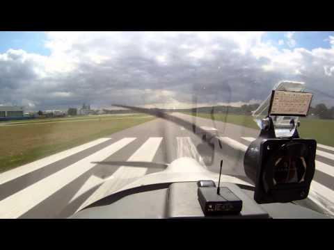 VFR Flight EDKW to EDRY / Marginal Weather - Dimona HK36