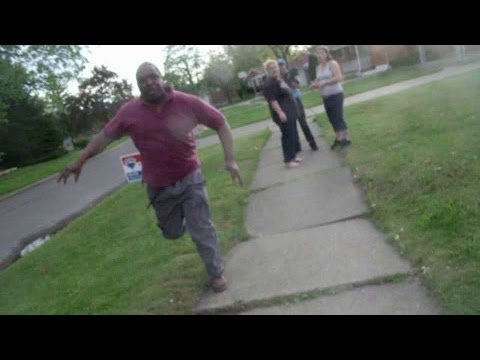 Crazy Neighbor And Dog Attack People 810 Flint Michigan