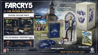 Far Cry 5 ► Обзор ► Все Дополнения, Издания и Цены ► Deluxe ► Gold ► Season Pass ► Фигурка