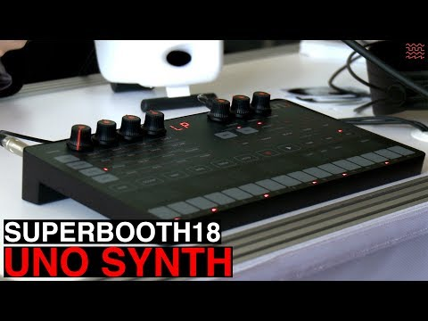 IK Multimedia UNO Synth (SuperBooth18)