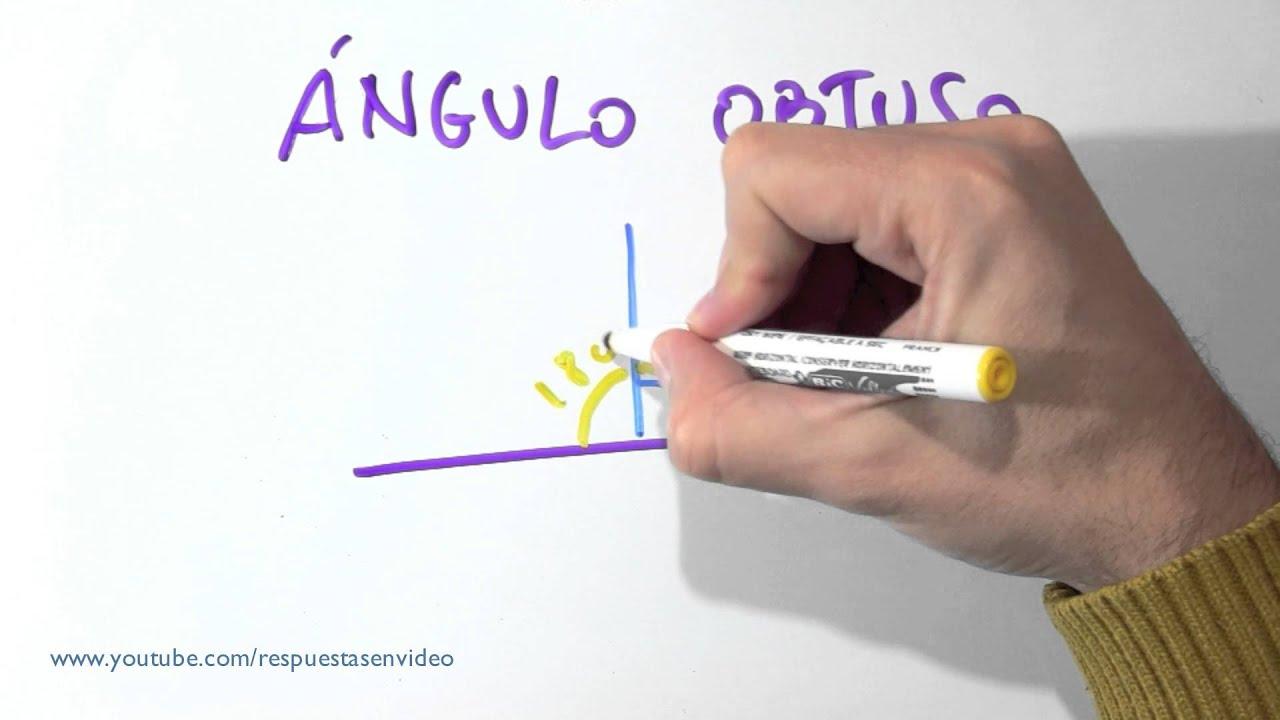 Que Es Un Angulo Obtuso Cual Es Definicion Dibujos Y Ejemplos