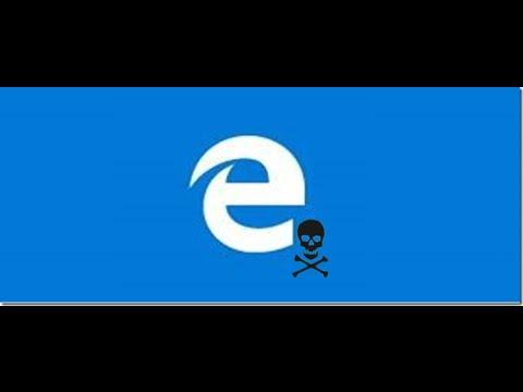 Kак удалить Microsoft Edge в Windows 10