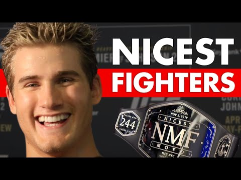 10 Nicest Fighters In MMA Who Would Still Destroy You
