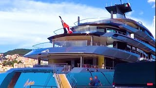 98m superyacht Aviva (UK billionaire, Joe Lewis)
