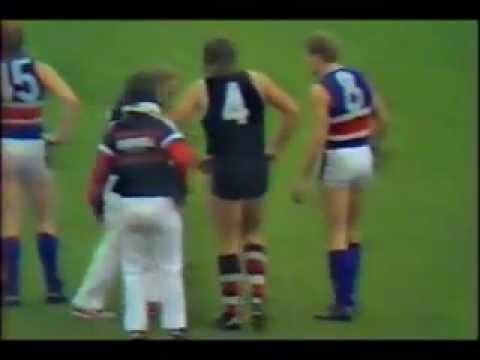 7 Sports News Report on Tony Lockett Injury 1988