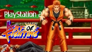 Art of Fighting Ryo playthrough (Playstation 2)